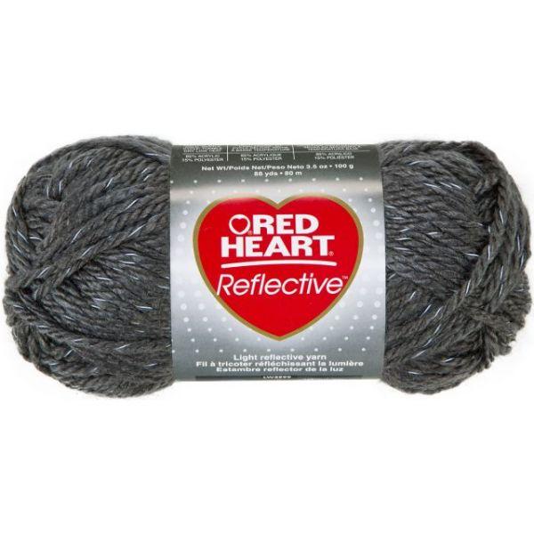 Red Heart Reflective Yarn - Gray