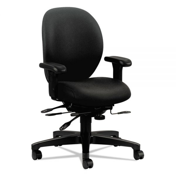 HON Unanimous 7628 Series Mid-Back Office Chair