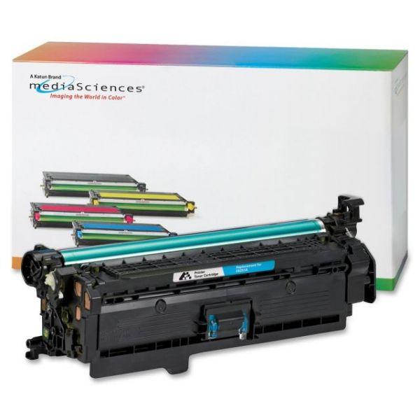 Media Sciences Remanufactured HP 504A Cyan Toner Cartridge