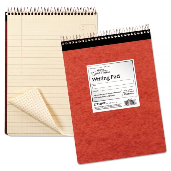 Ampad Gold Fibre Retro Wirebound Letter-Size Legal Pad