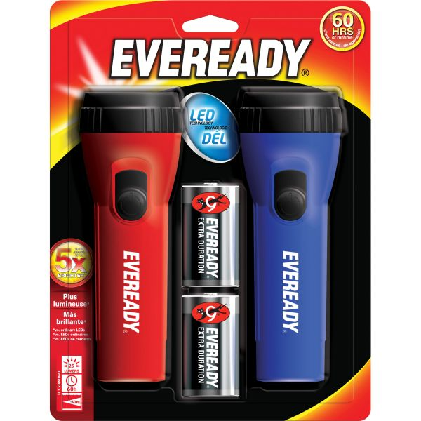 Eveready Economy LED Flashlights