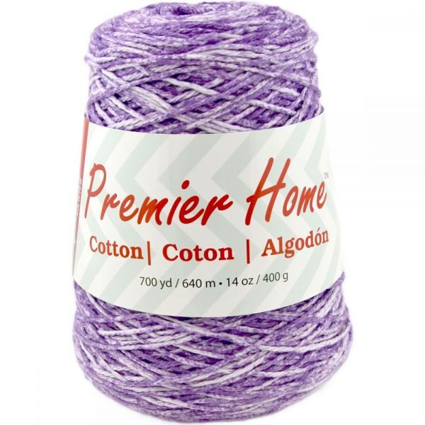 Premier Home Cotton Yarn - Violet Splash