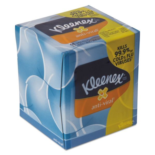 Kleenex Anti-Viral 3-Ply Facial Tissues