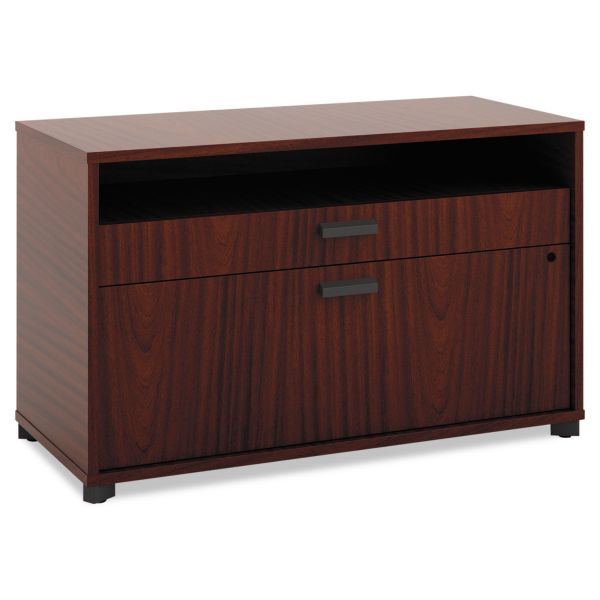 "HON basyx by HON Manage File Center | 1 Shelf / 2 Drawers | 36""W"