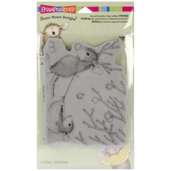 "Stampendous House Mouse Cling Rubber Stamp 4""X6"" Sheet"