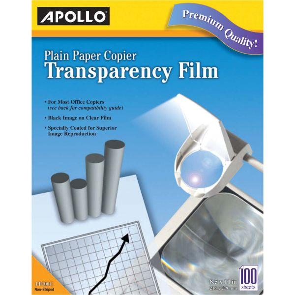 Apollo Plain Paper Copier Film Without Stripe