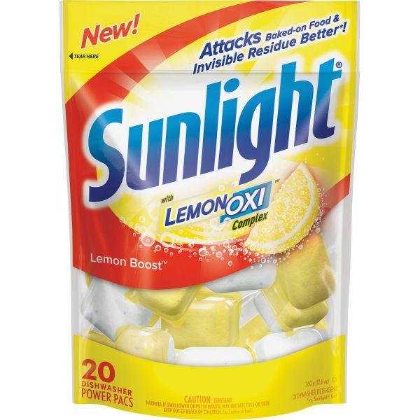 Sunlight Dishwasher Soap Pouches