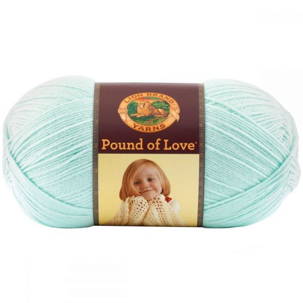 Lion Brand Pound Of Love Yarn - Pastel Green
