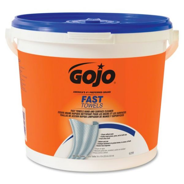 Gojo Fast Towels Hand/Surface Cleaner