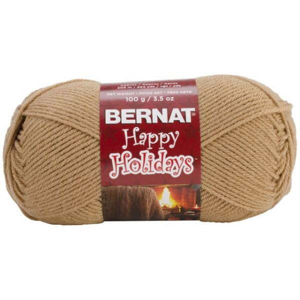 Bernat Happy Holidays Yarn - Caramel
