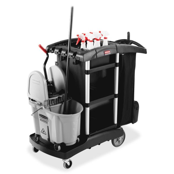Rubbermaid High Capacity Executive Cleaning Cart