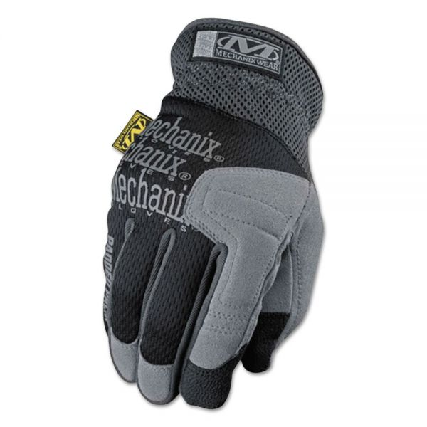 Mechanix Wear Padded Palm Gloves, Black, Large