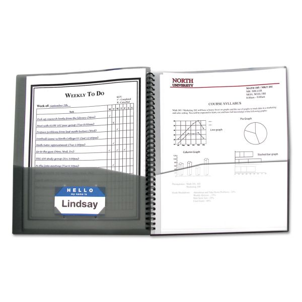 C-Line Eight-Pocket Portfolio