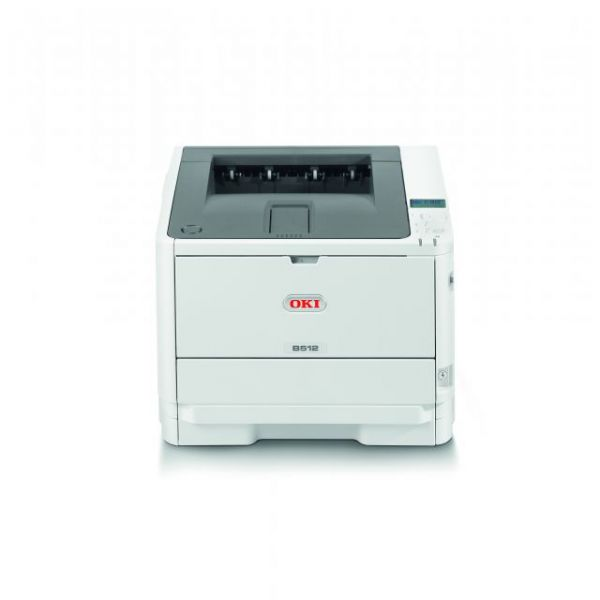 Oki B512dn LED Printer - Monochrome - 1200 x 1200 dpi Print - Plain Paper Print - Desktop