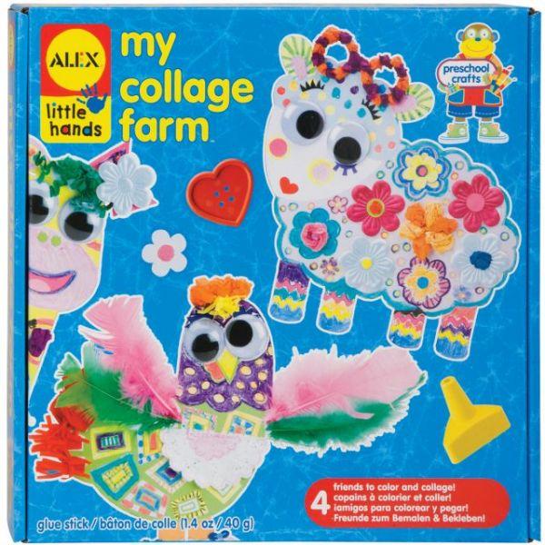 ALEX Toys Little Hands My Collage Farm Kit