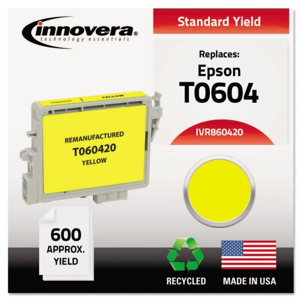 Innovera Remanufactured Epson T0604 Ink Cartridge