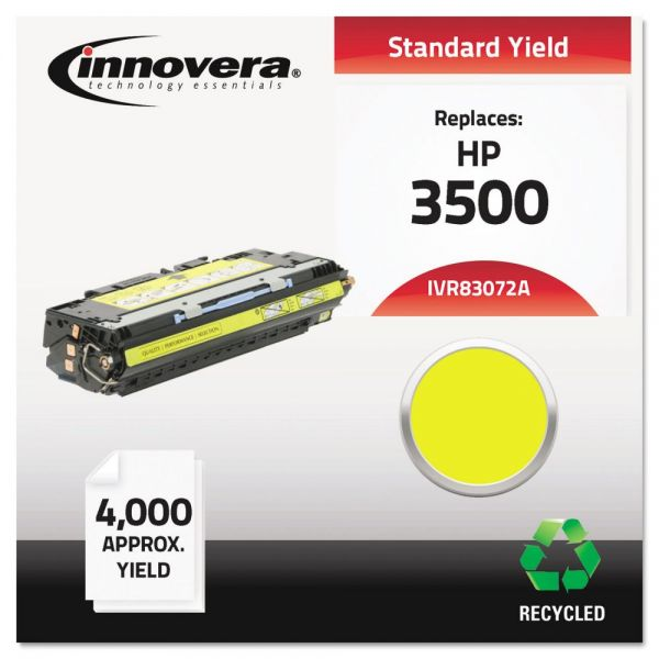 Innovera 83072A (Q2672A) Remanufactured Toner Cartridge, 4000 Page-Yield, Yellow
