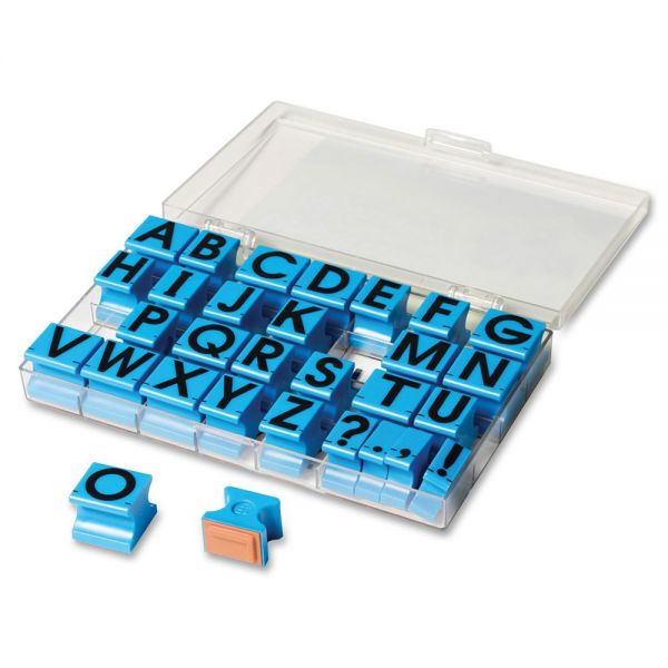 Educational Insights Uppercase Alphabet Stamps
