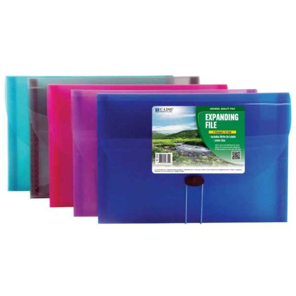 C-Line Biodegradable Expanding Files