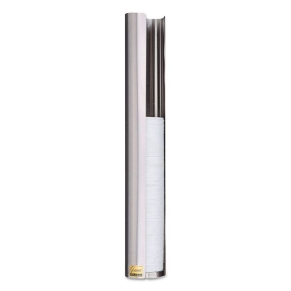 San Jamar Stainless Steel Lid Wall Dispenser