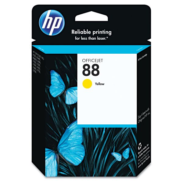 HP 88 Yellow Ink Cartridge (C9388AN)