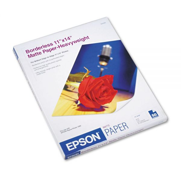 Epson Borderless Heavyweight Matte Photo Paper