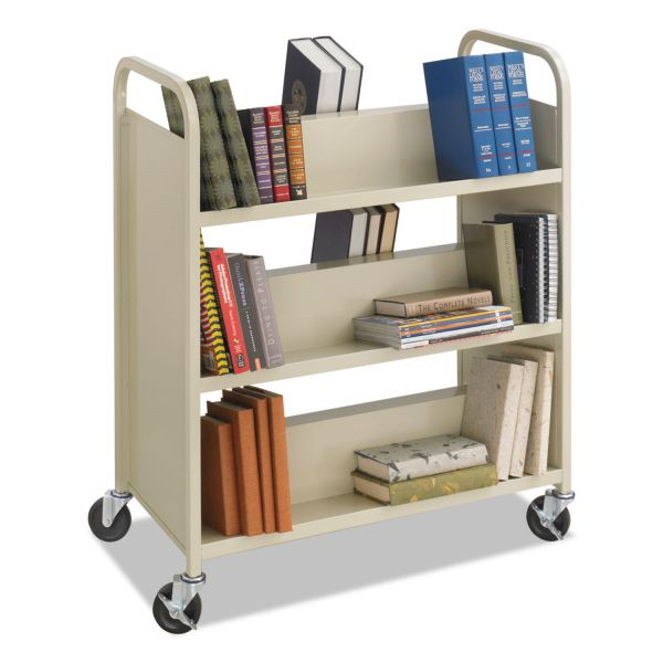 Safco Steel Book Cart