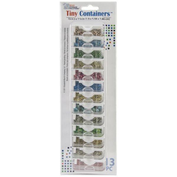 """Elizabeth Ward's Tiny Containers .75""""X2""""X1.125"""" 13/Pkg"""