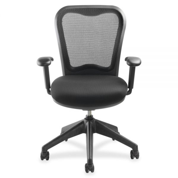 Lorell Mesh-back Task Chair with Swivel Tilt