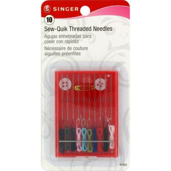 Sew-Quik Threaded Hand Needle Kit