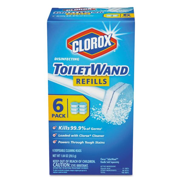 Clorox Disinfecting ToiletWand Refill Heads