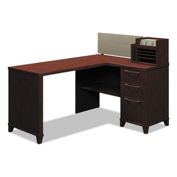 Bush Furniture Enterprise Corner Office Desk *Box 1 of 2