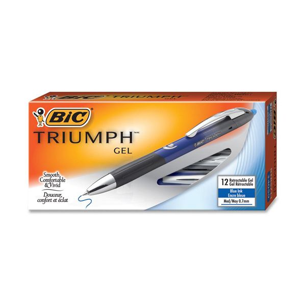 BIC Triumph Retractable Gel Pens