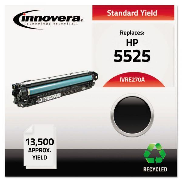 Innovera Remanufactured HP 5525 (CE270A) Black Toner Cartridge