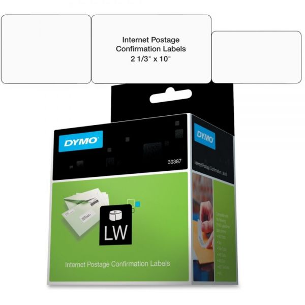 Dymo Internet Postage Confirmation Labels