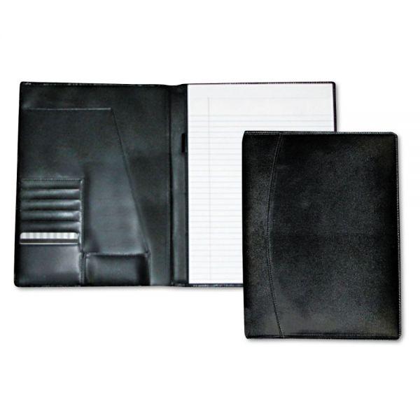 Buxton Men's Classic Pad Folio/Writing Pad, 8 1/2 x 11, Black, Each
