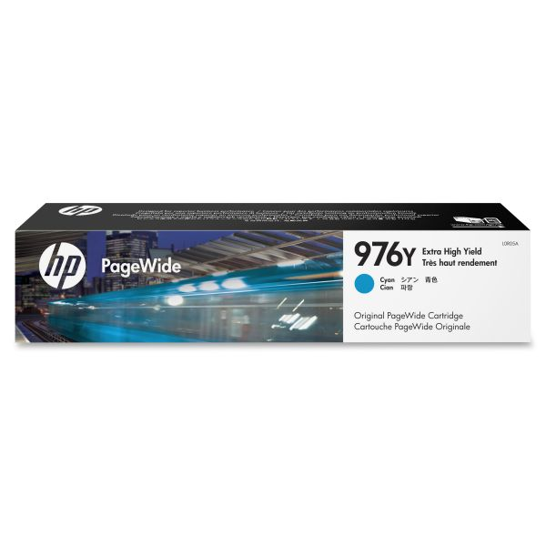 HP 976Y Cyan Ink Cartridge (L0R05A)