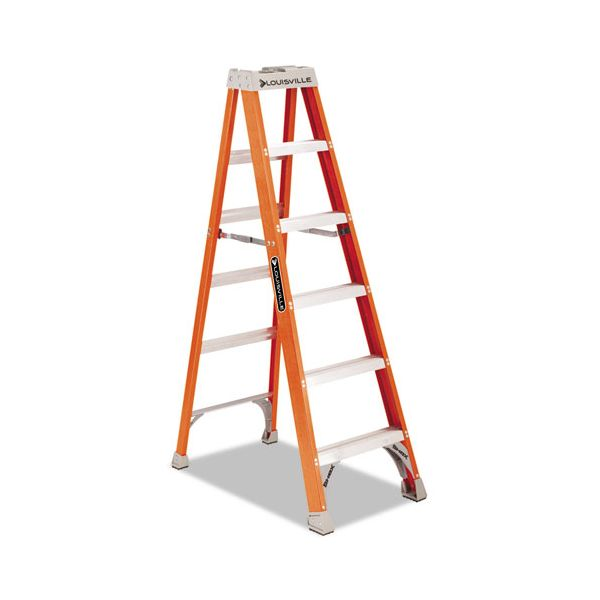 Louisville 6' Heavy Duty Fiberglass Step Ladder