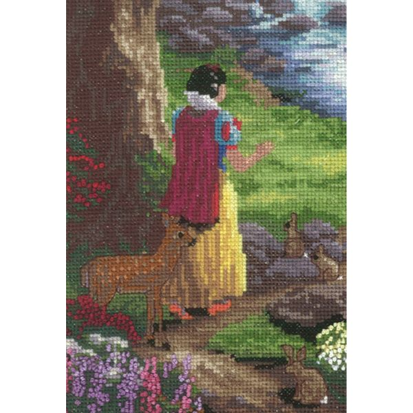 MCG Textiles Disney Dreams Collection By Thomas Kinkade Snow White Cross Stitch Kit