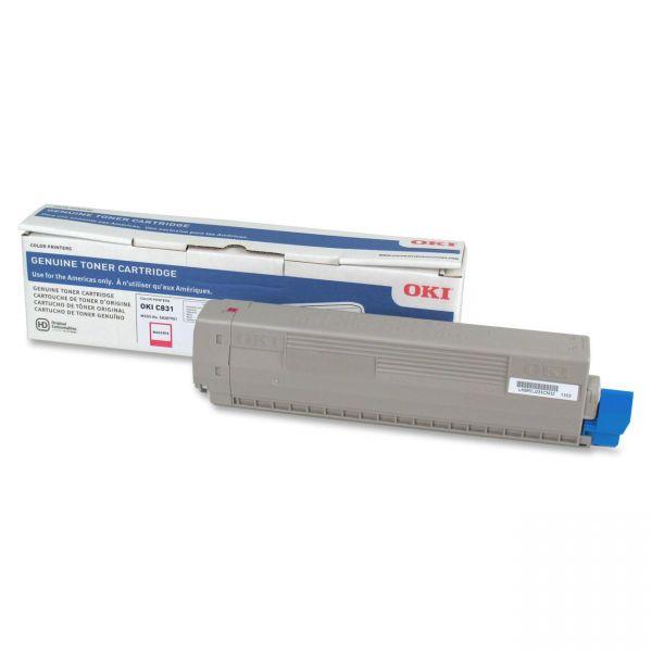 Oki 44844510 Magenta Toner Cartridge