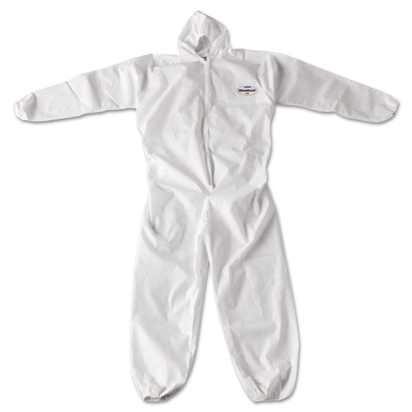 KleenGuard* A20 Breathable Particle Protection Coveralls, Zip Closure, 2X-Large, White