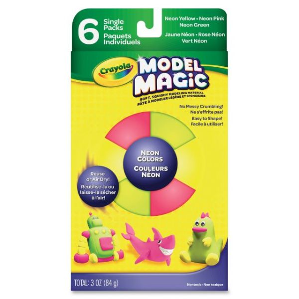 Model Magic Neon Squishy Modeling Set