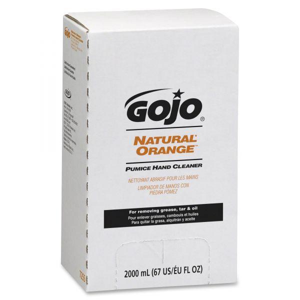 GOJO Natural Orange Pumice Hand Soap Refills