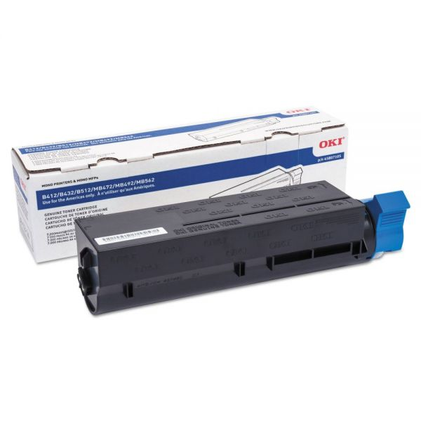 Oki 45807105 Black Toner Cartridge
