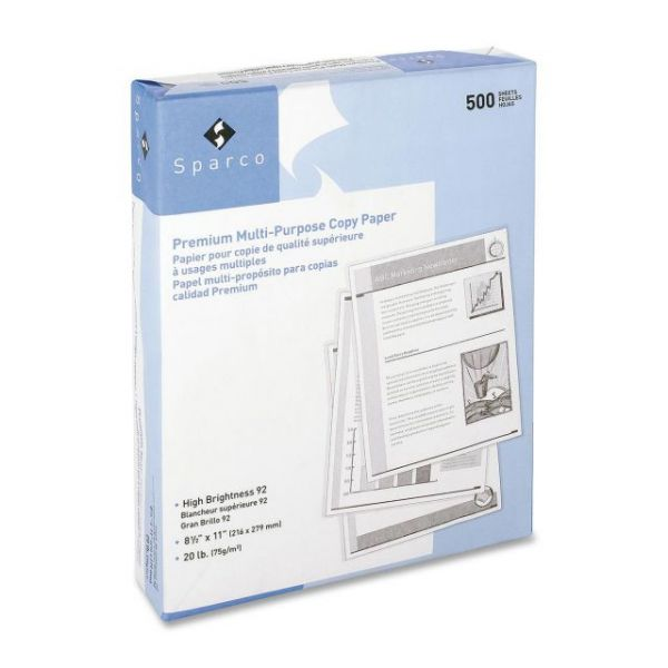 Sparco Premium Multi-Purpose White Copy Paper
