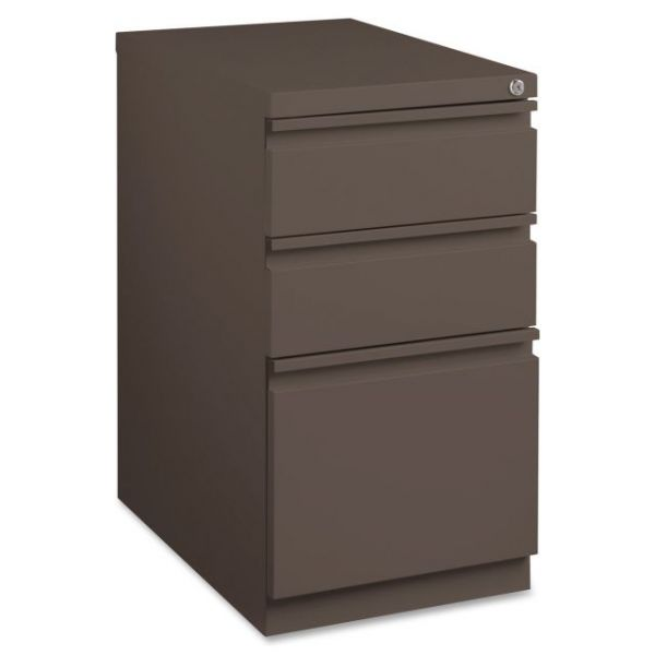 Lorell Mobile Steel Box/Box/File Pedestal