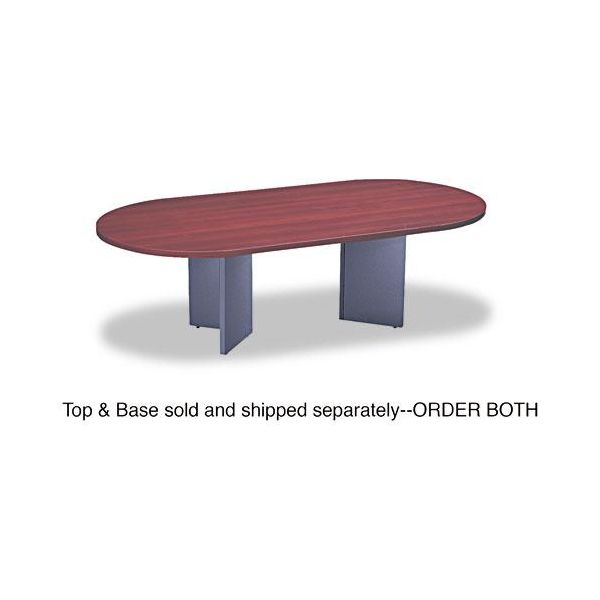 Adaptabilities Racetrack Conference Table Top, 96w x 48d, Honey