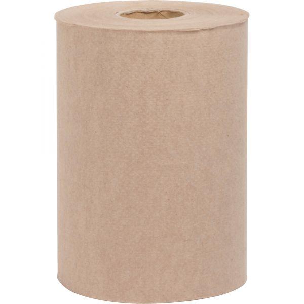 Special Buy Embossed Hardwound Paper Towel Rolls, Kraft, 12 Rolls/Carton