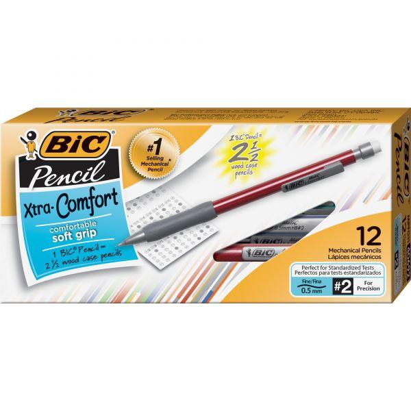 BIC Xtra Comfort 0.5 Mechanical Pencils