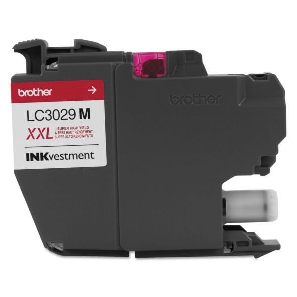 Brother LC3029M INKvestment Super High-Yield Magenta Ink Cartridge
